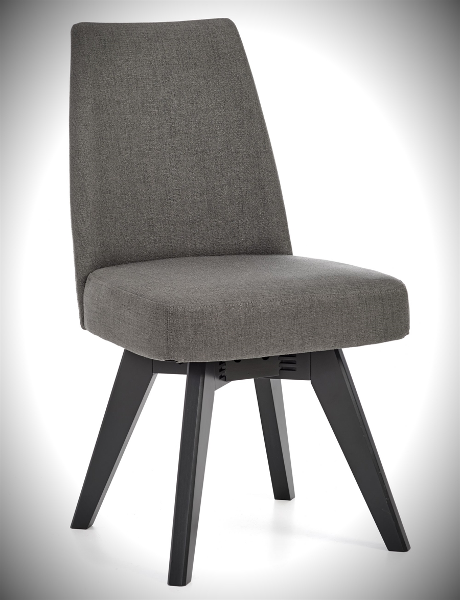 Brunel Chair - Swivel - Cold Steel