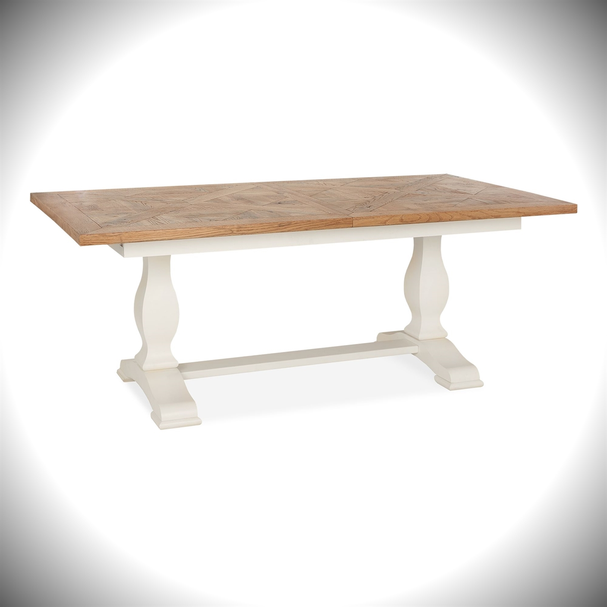 Belgrave 6-8 Extension Table - 2 Tone
