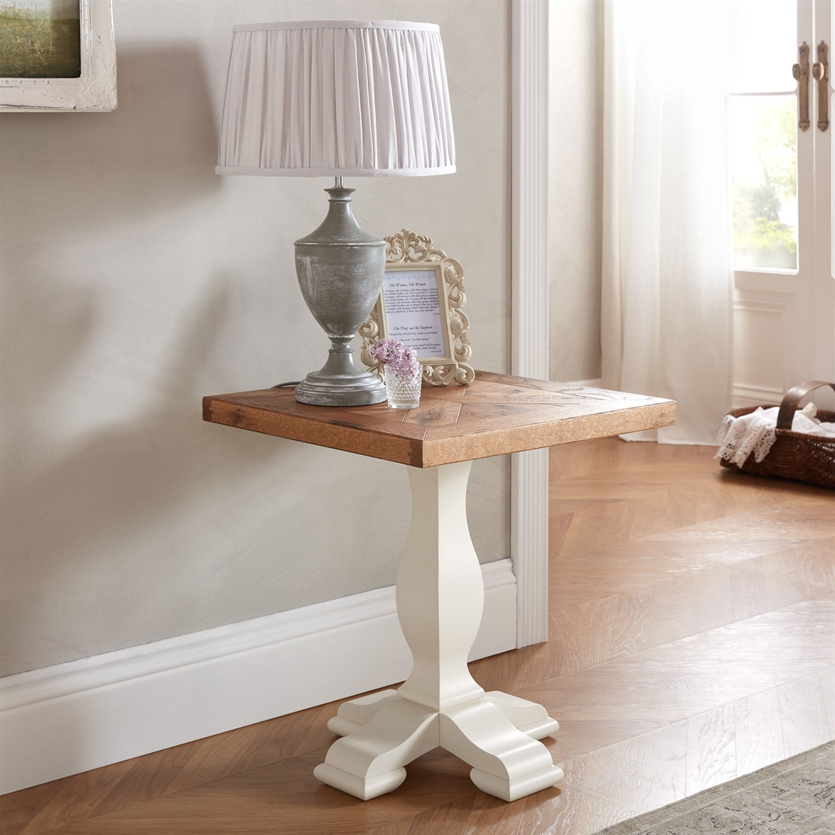 Belgrave Lamp Table - 2 Tone