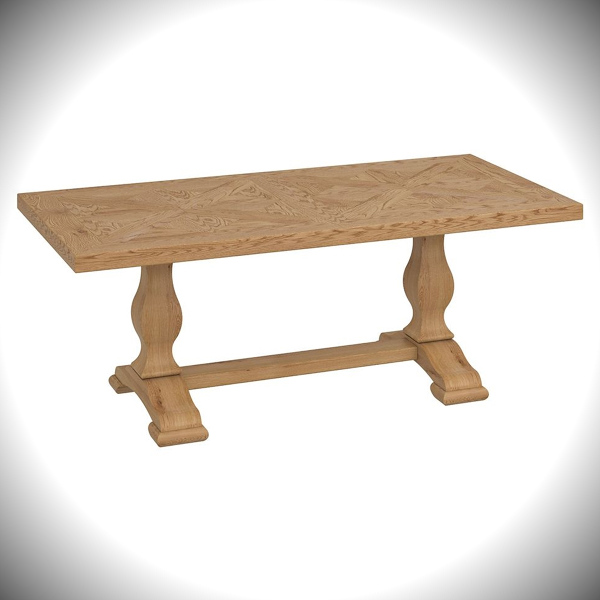 Belgrave Coffee Table - Rustic Oak