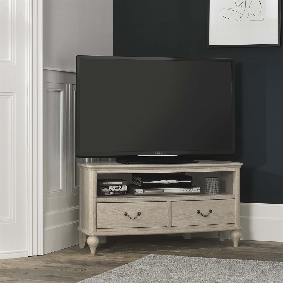 Bordeaux Corner Entertainment Unit
