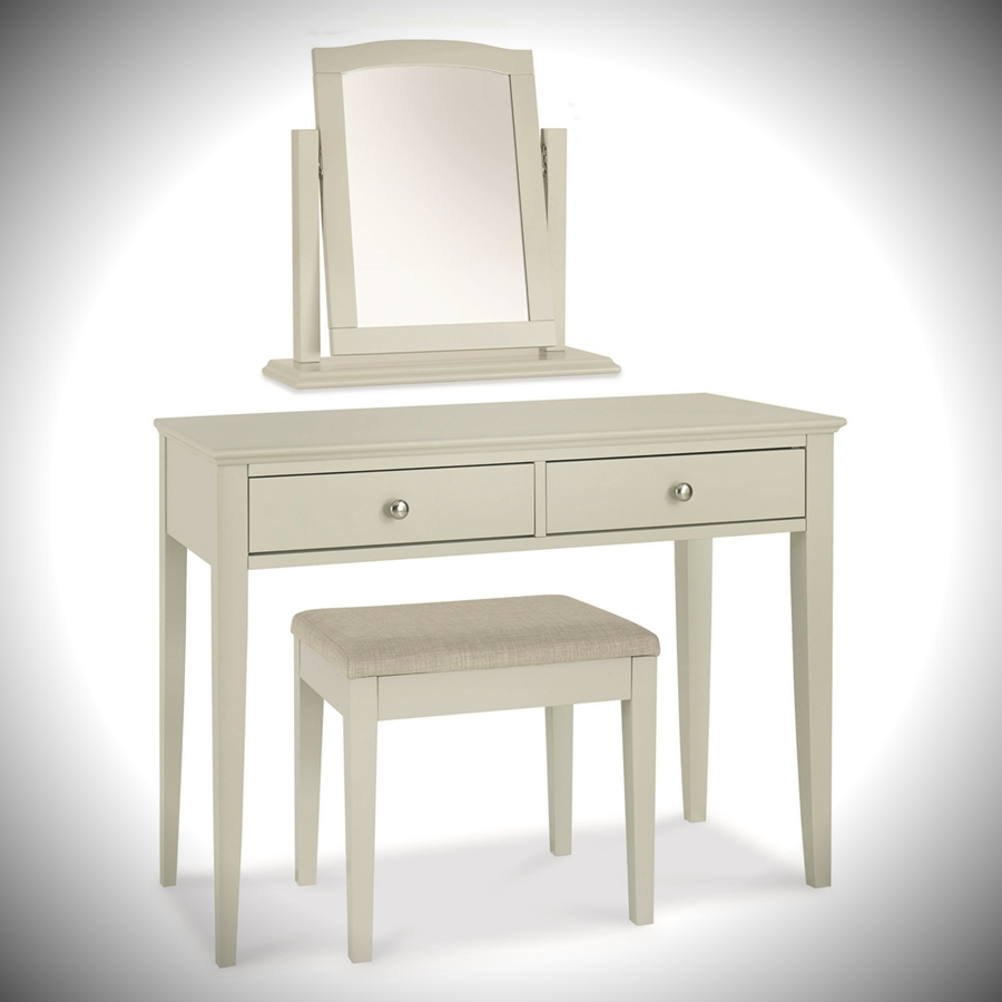 Ashby Dressing Table Mirror Stool