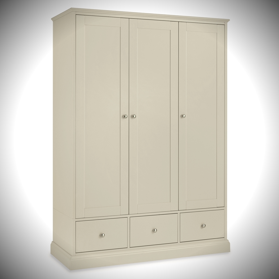 Ashby Triple Wardrobe
