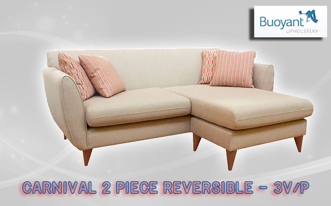 buoyant CARNIVAL 2 PIECE REVERSIBLE CHAISE  3V  P