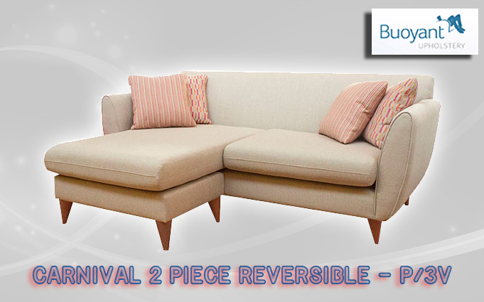 buoyant CARNIVAL 2 PIECE REVERSIBLE CHAISE  P  3V